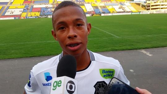Robinho faz bom jogo e entra na briga por um lugar no time do Rio Branco-ES