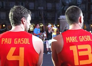 Paul Gasol e Basquete Espanha (Foto: Agência EFE)