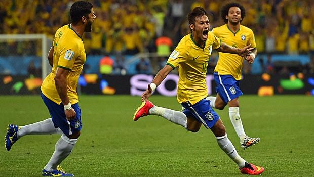 AO VIVO: 1º tempo termina empatado em 1 a 1; Neymar marcou o gol do Brasil (AO VIVO: 1º tempo termina empatado  em 1 a 1; Neymar fez o gol do Brasil (AO VIVO: 1º tempo termina empatado em 1 a 1; Neymar fez o gol do Brasil (AO VIVO: Neymar empata para o Brasil (AFP))))