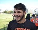 Em recuperação de cirurgia na face, Erick Silva vai torcer pelo VV Tritões
