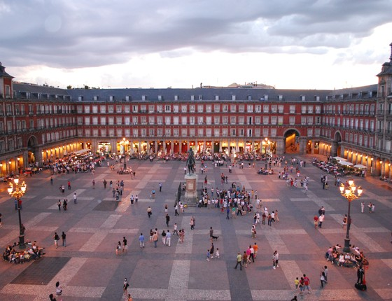 Plaza Mayor, em Madri (Foto: Sebastian Dubiel/Creative Commons/Wikimedia)