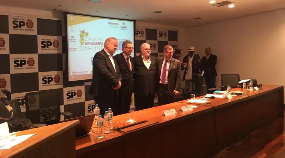 """Lançamento do """"Criado em Sampa Online"""" (Foto: Caio Patriani)"""