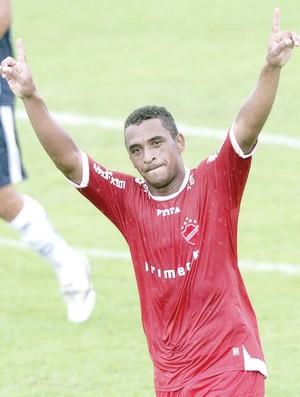 Elcimar, atacante do Vila Nova (Foto: Cristiano Borges/O Popular)
