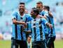 Grêmio massacra o VEC, aplica 5 a 0 e carimba vaga na semi do Gauchão