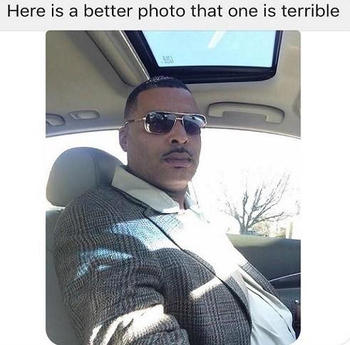 O selfie enviado por Donald à polícia de Lima, EUA
