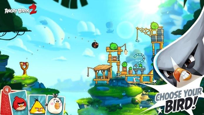 Angry Birds 2 repete o sucesso do primeiro jogo lançado a mais de cinco anos (Foto: Divulgação / Rovio)