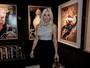 Flávia Alessandra e mais famosos prestigiam exposição no Rio
