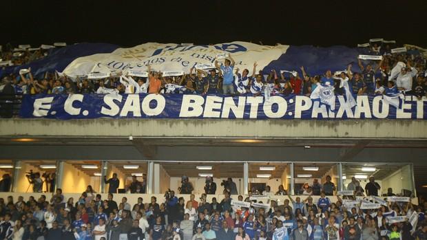São Bento bandeirão (Foto: Assis Cavalcante / Agência Bom Dia)