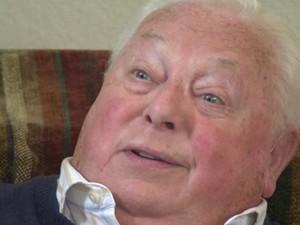 Maurice Chandler, em vídeo de 2012 (Foto: Reprodução/Youtube United States Holocaust Memorial Museum)