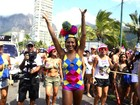 Famosos curtem primeiro dia dos blocos de rua no Rio de Janeiro