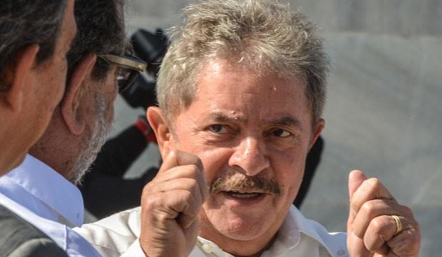 Lula após discurso em Havana, nesta quarta (30) (Foto: Adalberto Roque/AFP)