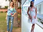 Casual ou chique? Confira os looks de Fernanda Gentil e Mariana Rios