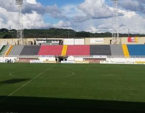 estádio do melão boa esporte uberaba (Foto: Felipe Siqueira / GloboEsporte.com)