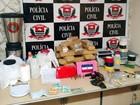 DIG apreende 35 kg de drogas e R$ 10 mil em uma 'refinaria' em Piracicaba