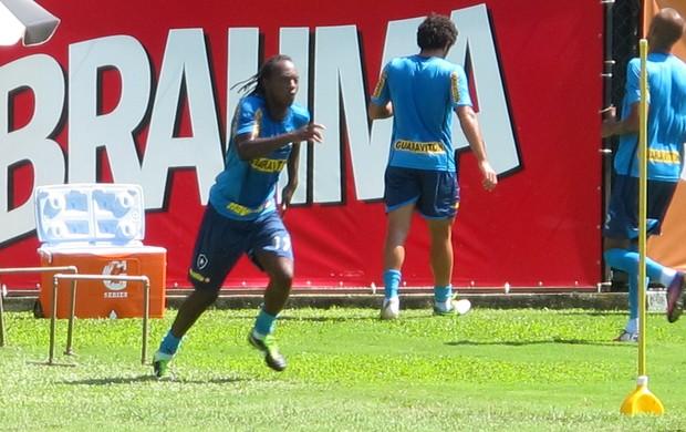 Andrezinho botafogo treino (Foto: Thales Soares)