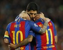Com goleada do Barça sobre o City, trio MSN passa dos 100 gols em 2016