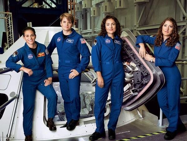 astronautas (Foto: Reprodução/Twitter)