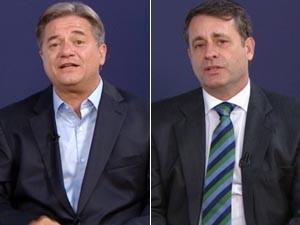 Luiz Paulo e Luciano Rezende (Foto: Reprodução/TV Gazeta)