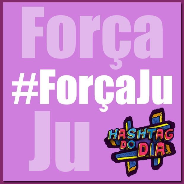 #HashtagDoDia: Força Ju (Foto: Malhação / TV Globo)