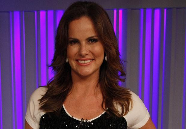 4º lugar - Renata Ceribelli: A apresentadora do dominical Fantástico cuida dos fios com seu cabeleireiro particular (Foto: Divulgação/TV Globo)