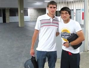 Tellechea e Lodeiro, Botafogo (Foto: Thales Soares / Globoesporte.com)
