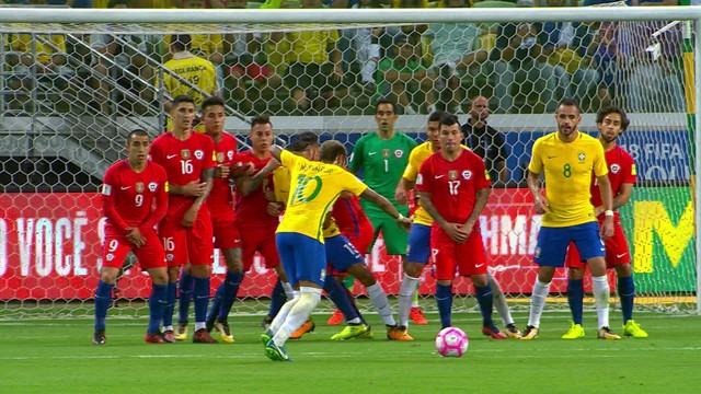 Brasil x Chile - Eliminatórias da Copa - América do Sul 2015-2017 ... 1df0ddb2dadcf