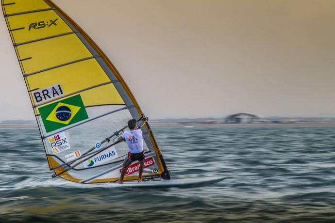 Ricardo Winicki, o Bimba Mundial de RS:X Vela (Foto: Jesus Renedo/Sailing Energy )