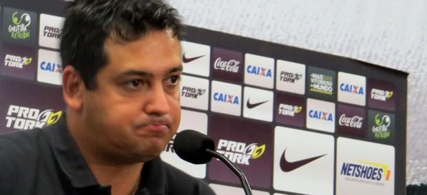 Marquinhos Santos, técnico do Coritiba (Foto: Fernando Freire)