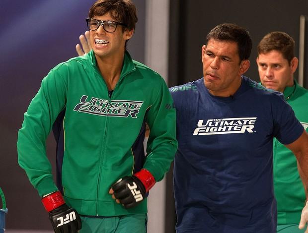 TUF David Vieira e rodrigo minotauro (Foto: UFC / Divulgação)