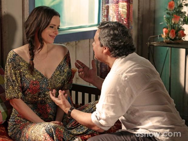 Inês quer se casar em Tapiré (Foto: Fábio Rocha/TV Globo)