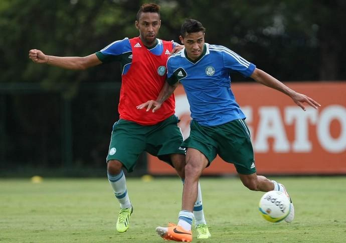 Wellington Palmeiras Alan Kardec (Foto: Cesar Greco/Ag Palmeiras/Divulgação)