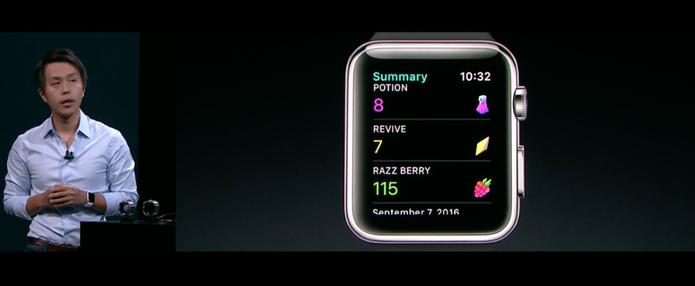 pokemon go apple watch (Foto: Reprodução/Apple)
