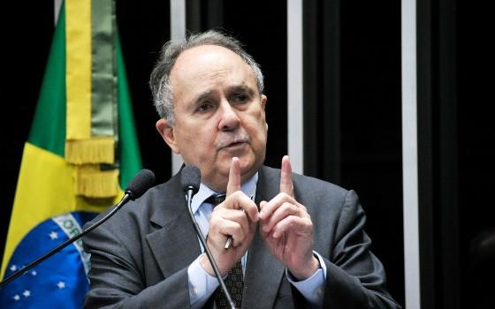 O senador Cristovam Buarque (Foto: Geraldo Magela/Agência Senado)