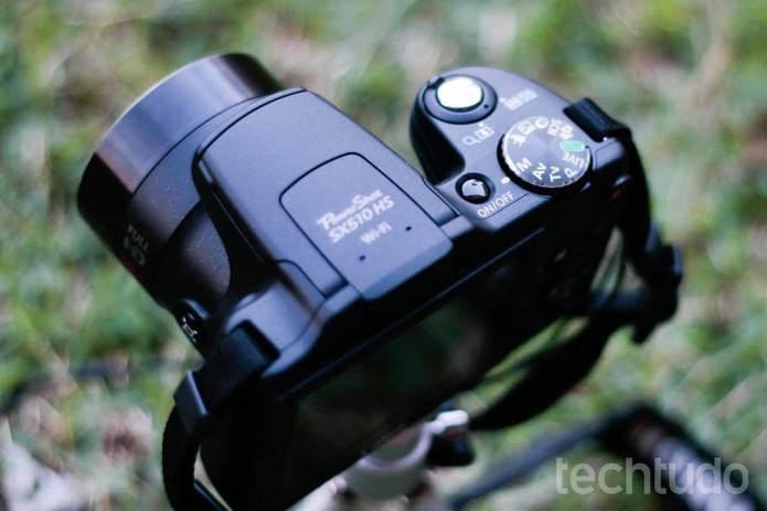 Colocando a câmera no modo manual (Foto: Itair Siqueira/TechTudo)