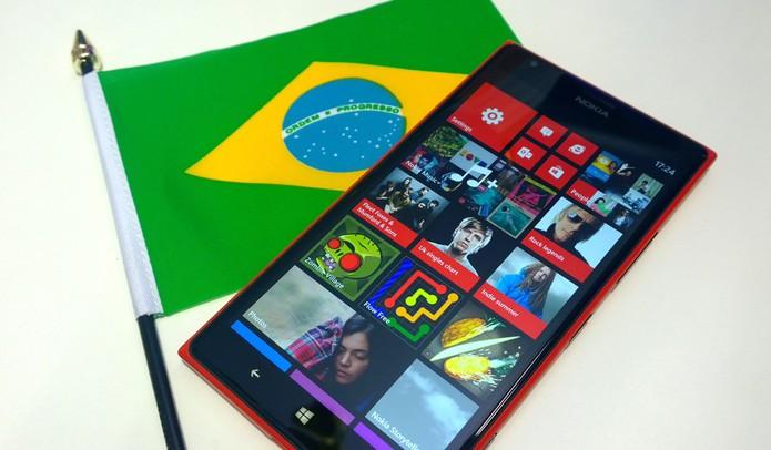 Lumia 1520 pode chegar ao Brasil no próximo dia 17 (Foto: Allan Melo / TechTudo)