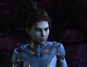 Kerrigan, a Rainha das Lâminas, tem papel principal na primeira expansão de 'Starcraft II' (Foto: Divulgação)