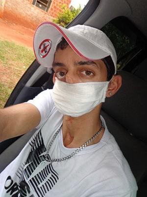 Jovem retornou para Lucas do Rio Verde Há 10 dias (Foto: Reprodução/Facebook)