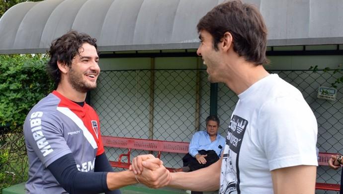 Kaka Pato São Paulo (Foto: Site oficial do SPFC)