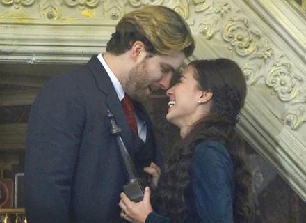 Final: Enfim casados de novo! Laura e Edgar comemoram volta e planejam filho