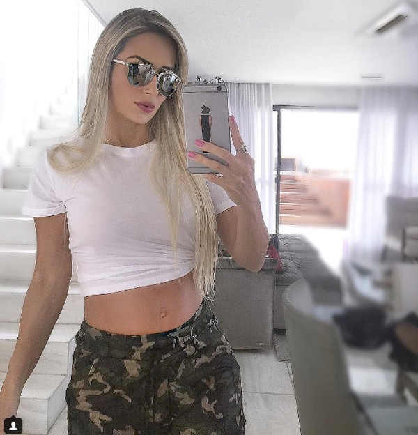 Letícia Santiago (Foto: Reprodução / Instagram)
