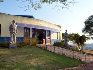 Comunidade Magnificat, em Três Corações, onde Buzzi ficou por cerca de seis meses (Foto: Samantha Silva/G1)