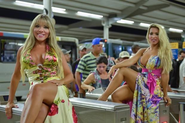 Amanda Pinheiro e Dani Vieira (Foto: ALEXANDER DINIZ)