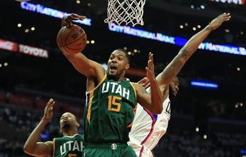 Conjunto do Jazz bate os Clippers e garante volta à semifinal do Oeste