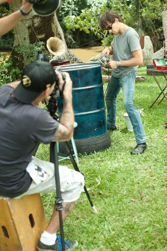 Making of de Fabio Delai na campanha da HStern (Foto: HStern/ divulgação)