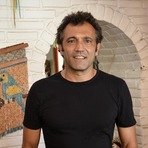 Domingos Montagner: ele grava até março no Rio (Foto: Raphael Dias/ TV Globo)