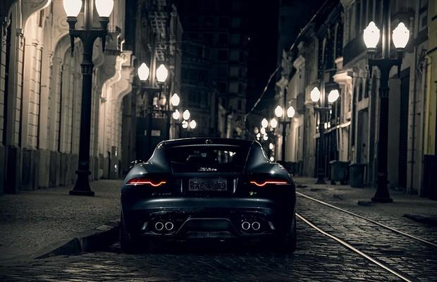 Jaguar F-Type Coupé (Foto:  Fabio Aro/Autoesporte)