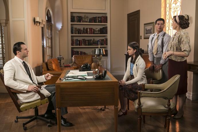 Gerusa marca consulta com o médico para saber toda a verdade (Foto: Inácio Moraes/Gshow)