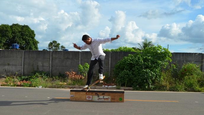 Skate em Ji-Paraná, RO (Foto: Samira Lima)