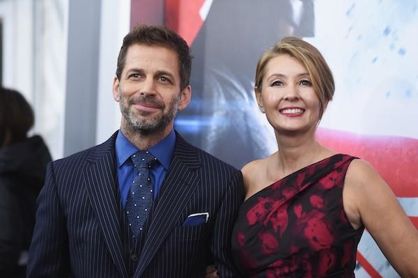 O diretor Zack Snyder com a esposa Deborah Snyder (Foto: Getty Images)