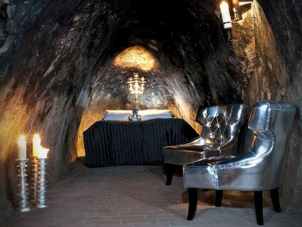 Hotel Silver Mine, construído dentro de uma mina na Suécia (Foto: Pappilabild/Divulgação)